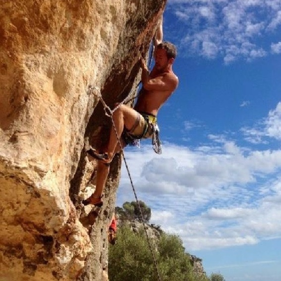 "Bouldertraining mit dem ""Profi-Weber"""