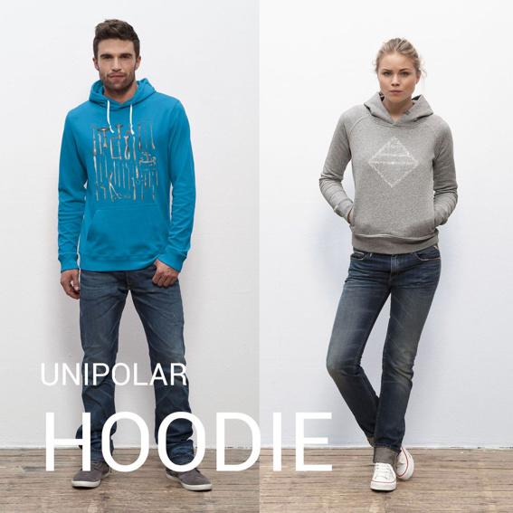UNIPOLAR Hoodie (Kapuzenpullover) deiner Wahl