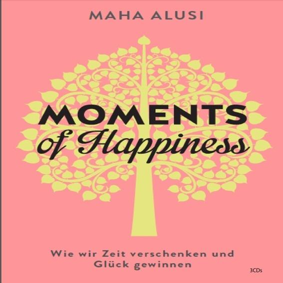 """Audio CD """"Moments of Happiness"""" von Maha Alusi signiert für dich persönlich"""