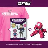 Captain – Deluxe Edition + T-Shirt + Quattro Figur