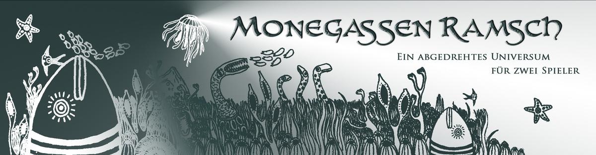 Monegassen Ramsch - ein abgedrehtes Universum für 2 Spieler