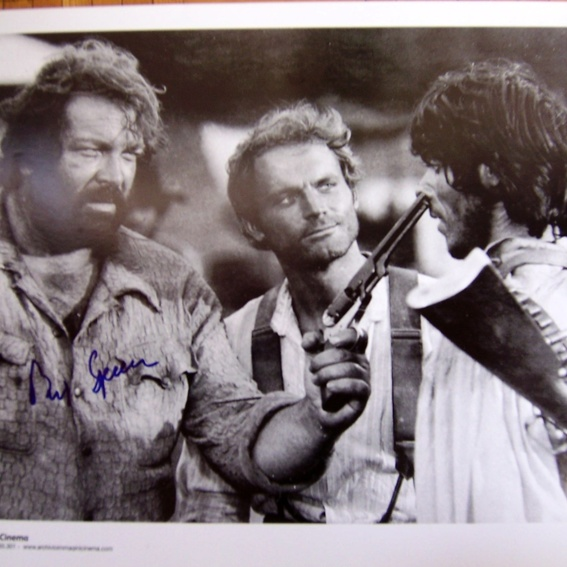 Original Autogramm von Bud Spencer