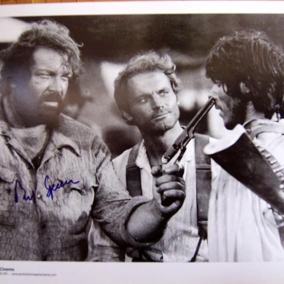 Original Autogramm von Bud Spencer