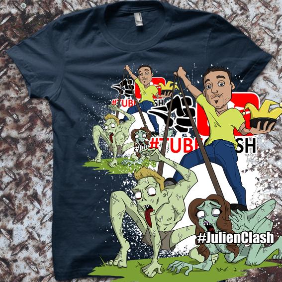 #JulienClash-Shirt