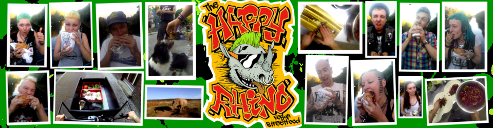 The Happy Rhino Vegan Foodtruck!