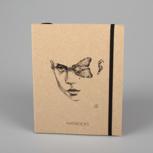 """Moths and myths"" (black/carton) – Swiss Brochure"
