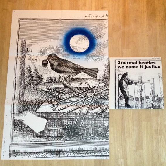 3 Normal Beatles LP inkl. limitierten Daniel Richter Siebdruck!