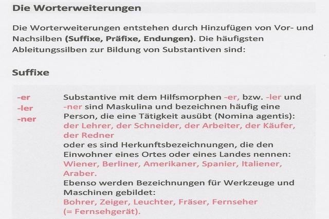 Deutsche Grammatik für Flüchtlinge