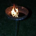 Die nachhaltige Feuerschale