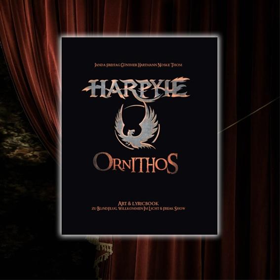 """Art & Lyricbook """"ORNITHOS """" mit Unterschriften DER WAHNSINN!!!"""