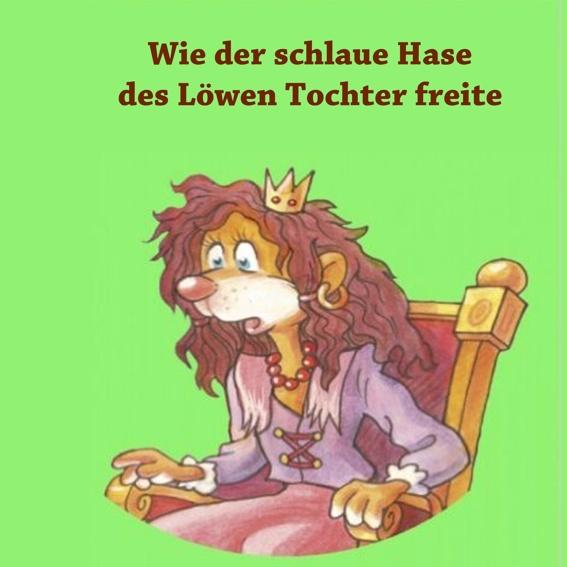 Märchenbuch mit einem Märchen in deutscher Sprache