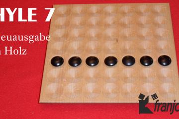 Hyle 7 - neue Ausgabe mit Holz-Spielbrett