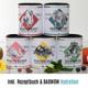 Berlin Organics Maxi-Set mit 5 Superfood Mischungen deiner Wahl und einem Portionsbeutel BAOWOW Hydration