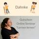 "Interaktives Online-Seminar ""Lernen lernen"""