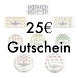 Onlineshop Gutschein 25€