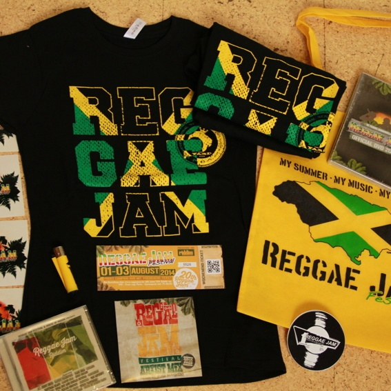 The big Reggaejam Festival Special Package