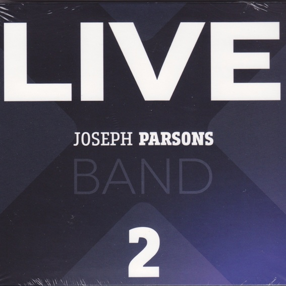 CD signiert - Joseph Parsond Band - LIVE 2