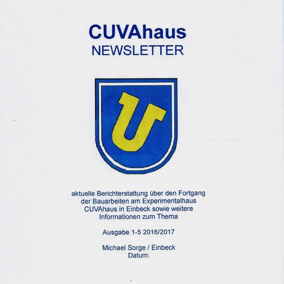 CUVAhaus Newsletter