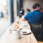 Persönliches Cafégespräch