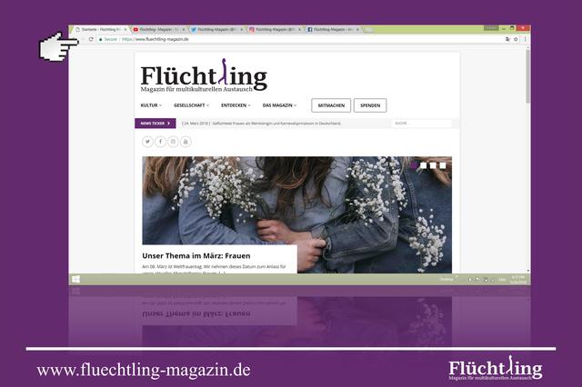 Flüchtling-Magazin
