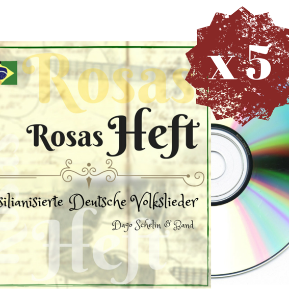 5 Rosas Heft CDs! Angebot!
