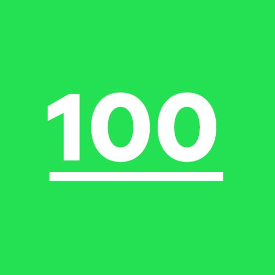 100 Sticker für deine Nachbarn