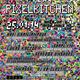 Poster 1 Year Pixelkitchen DINA3