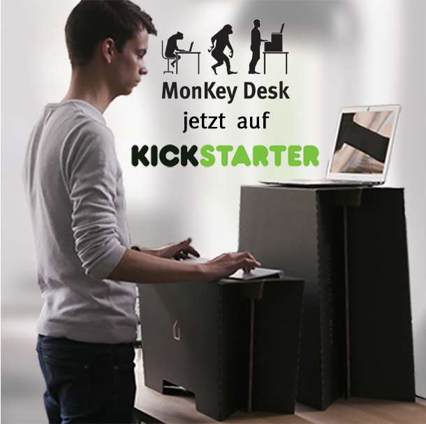 crowdfunding start monkey desk der flexible. Black Bedroom Furniture Sets. Home Design Ideas