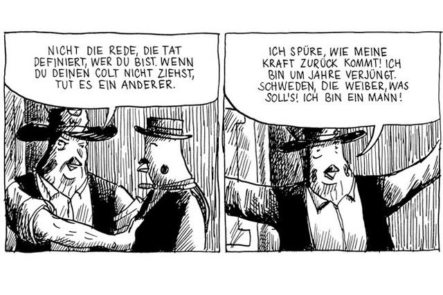 Comicerzählung Adamstown