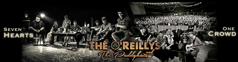 The O'Reillys and the Paddyhats - Gemeinsam für ein neues Album