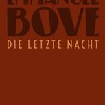 5 eigens gebundene Bücher von Emmanuel Bove (limitiert)