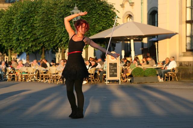 LED Tanzshow Soluna Flowart