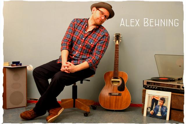 Alex Behning - Veröffentlichung seines Albums auf Vinyl & CD