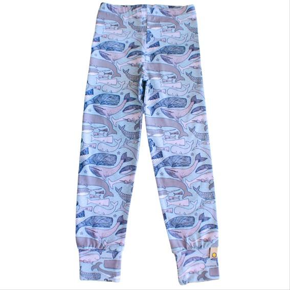 Leggings LILI  Kids (whale blue)