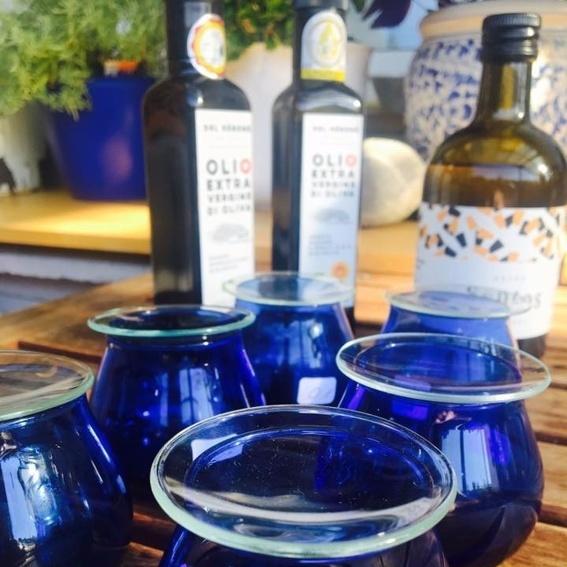 Olivenöl-Tasting