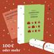 Buch mit Widmung plus Einladung zu Präsentation und Plakat