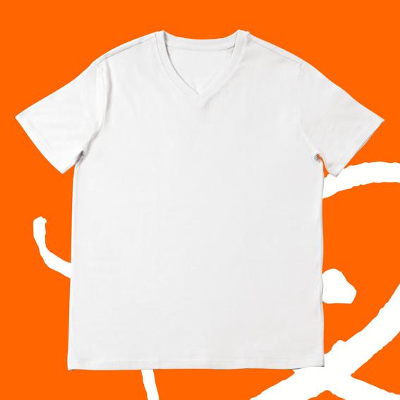 1x T-Shirt Unisex weiß