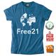 T-Shirt / Men - Free21