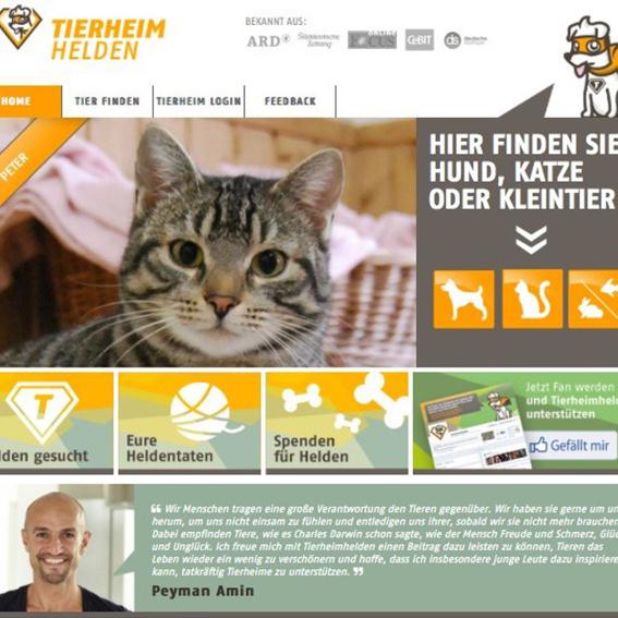 """Nennung auf der Homepage unter """"Spenden für Helden"""""""