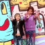Graffitiworkshop für bis zu acht Personen
