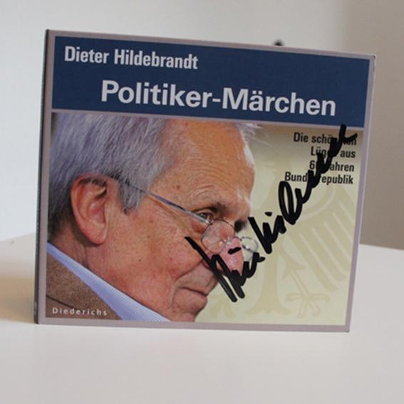 Politiker-Märchen (handsignierte CD)