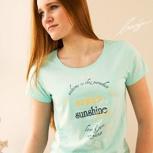 passion for planet no2 – women shirt mint