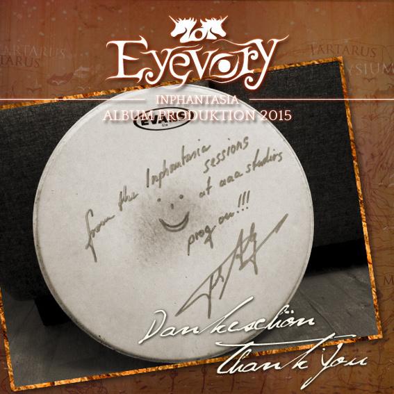 Signiertes Snare Fell + CD