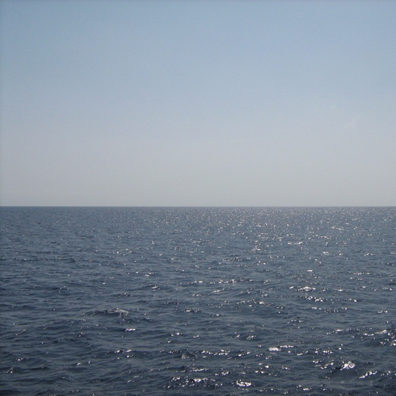 Fahrt auf Segelschiff