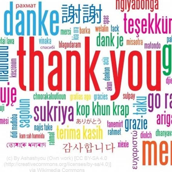Ganz herzlichen Dank!