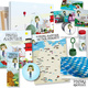 Buch, Leinwand, Poster, Postkarten, Geschenkpapier, Buttons, Seifenblasen, Aufkleber