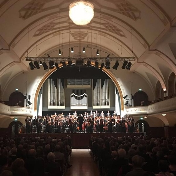 Ticket zum Symphoniekonzert in Jena am 18.04. mit Sektempfang
