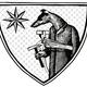 Handgefertigtes HMV-Wappen