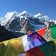 Nepal-Postkarte