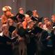 Der Chor singt ein persönliches Ständchen